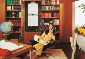 «Vaillant's Combi-Geyser VCW 20» представляет собой интеллектуальное сочетание комфорта обогрева и горячей воды.