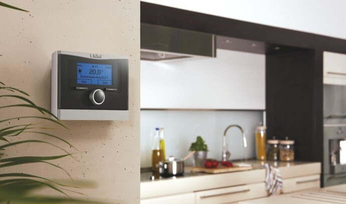 User friendly control calorMATIC by Vaillant