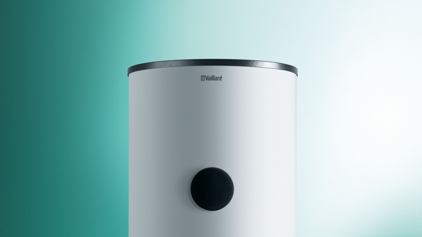Cylinders contain a hot water supply for immediate use - Vaillant